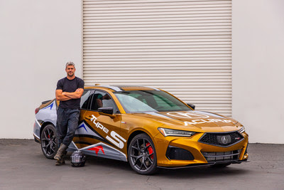 2021 TLX Type S Will Pace 99th Pikes Peak International Hill Climb Driven by Car Nut and TV Personality Ant Anstead